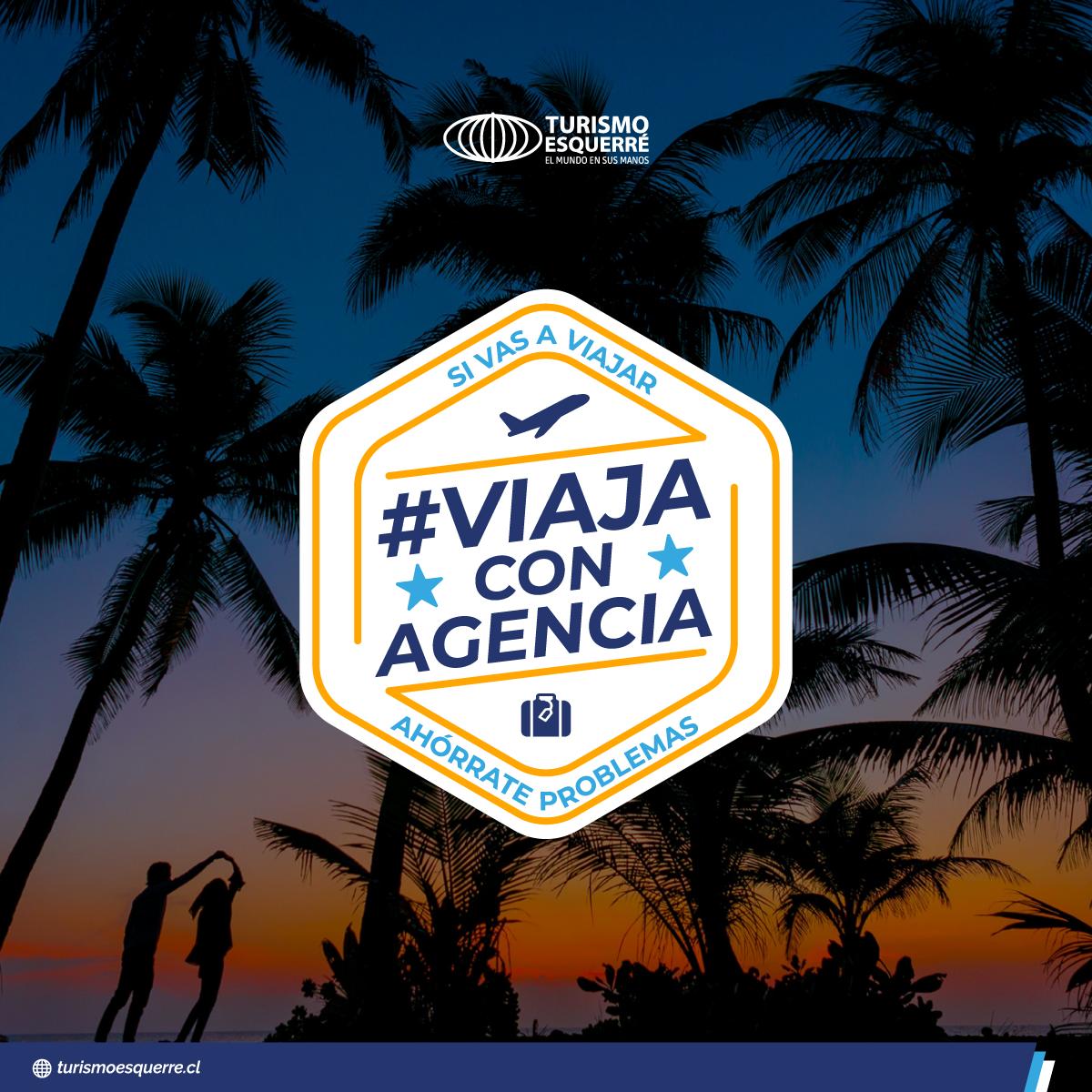 "Campaña Turismo ""Viaja con Agencia"""